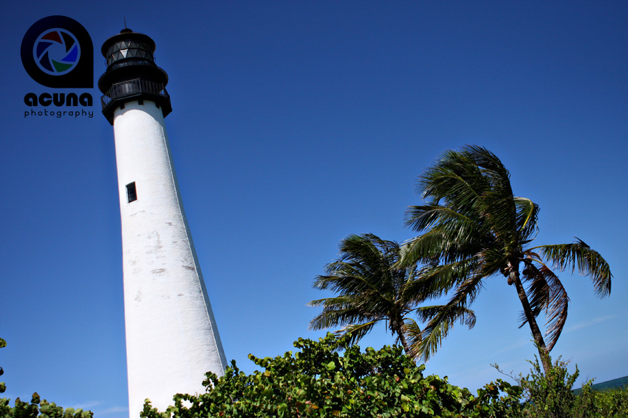 The Key Biscayne Light House at Bill Baggs Cape Florida State Park