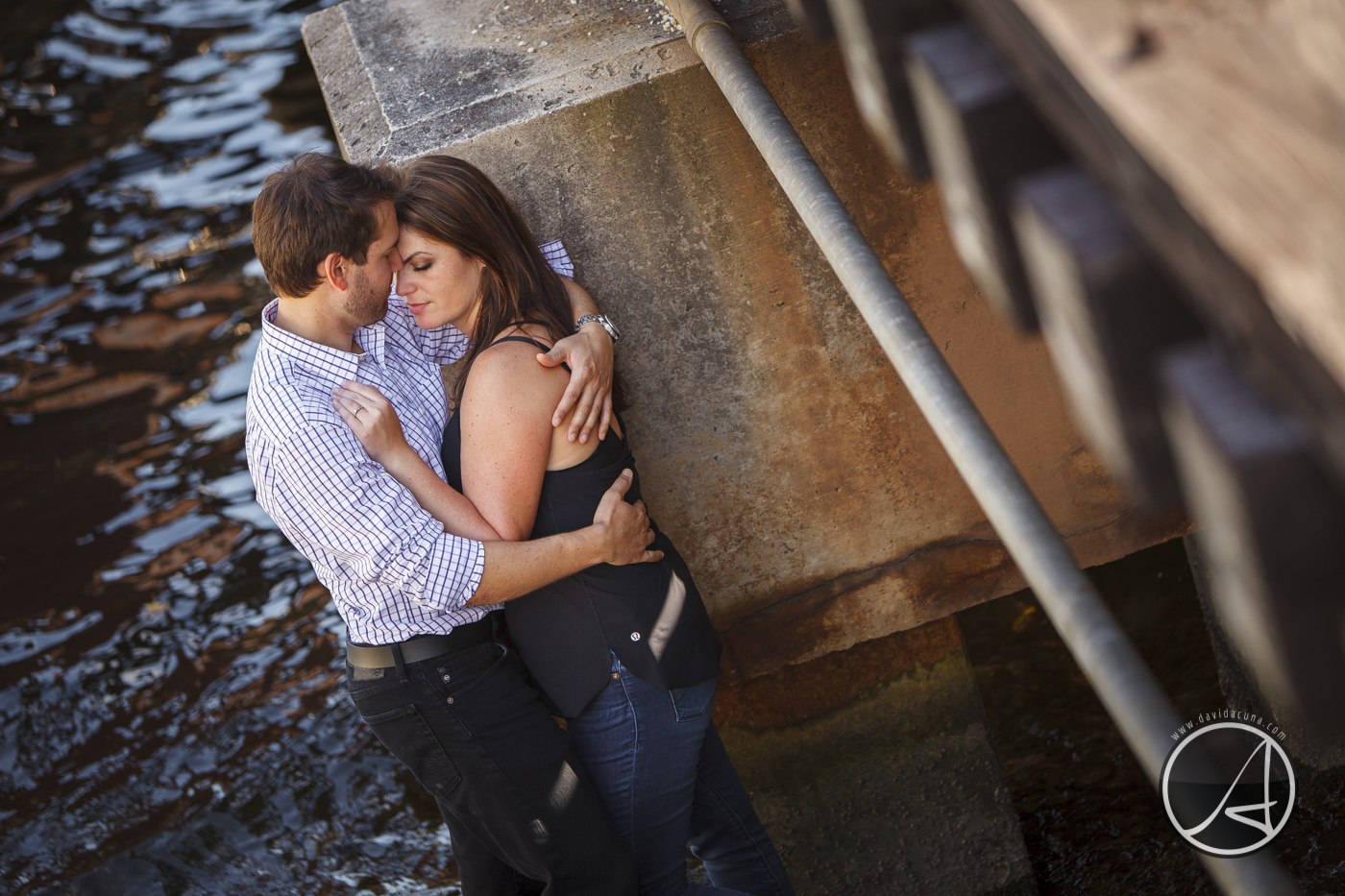 Riverwalk Engagement Session